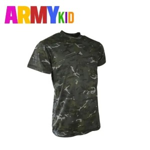 Kids Army T Shirts – BTP Black Cam