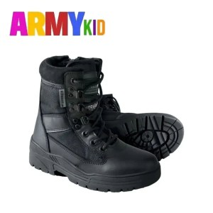 Kids Patrol Boot – Black