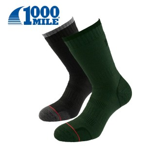 1000 Mile COMBAT SOCK Twin Pack