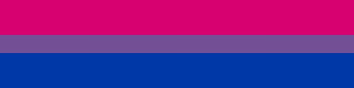 Bisexual Awareness Week Flag
