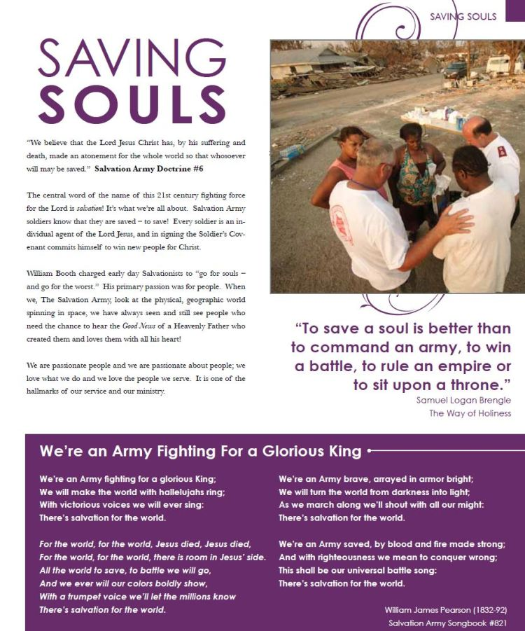 saving souls
