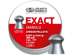 Diabolo JSB Exact 500ks kal.4,5mm