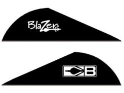 """Letka šípu Blazer 2"""" Black"""