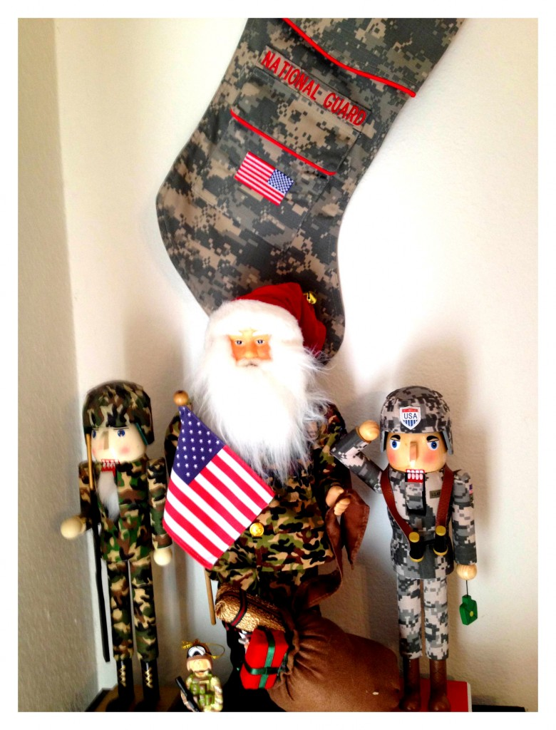 Wordless Wednesday Military Holiday Decor Themed