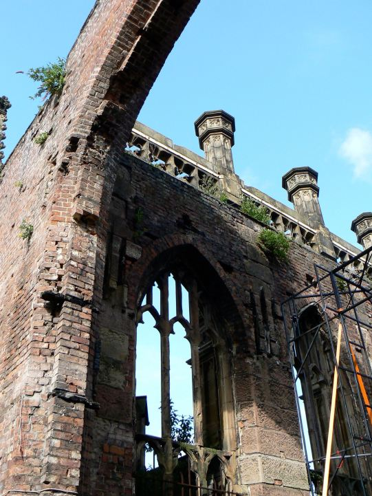 The Bombed out Church, Liverpool, UK