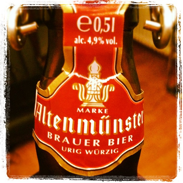Lecker Bier gefunden. Danke an @me_CRE 194