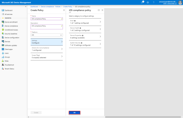 Protect Office 365 Exchange Online with Intune -