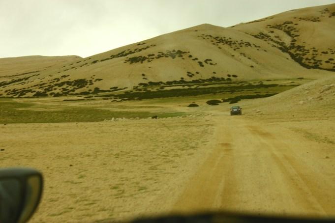 Deserted desert paths