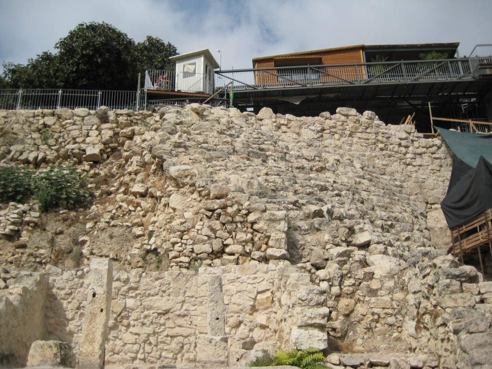David si borg i Jerusalem?