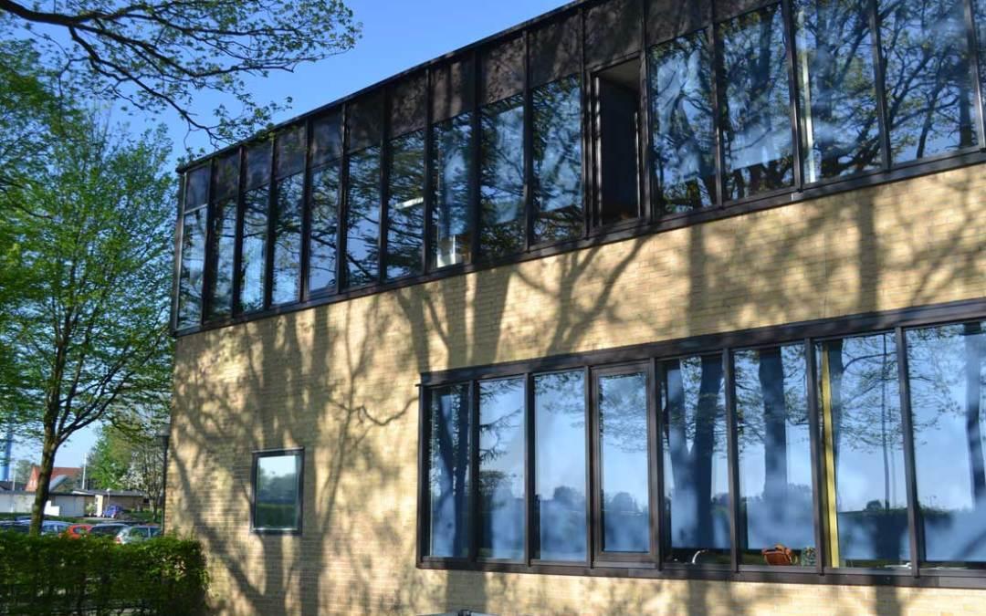 Nye vinduer på skole