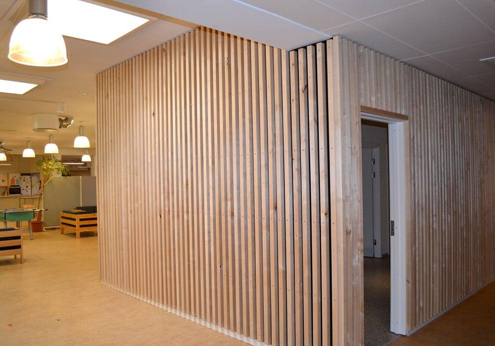 Tømrer- & Snedkerfirmaet Arne Danielsen A/S - Beklædning