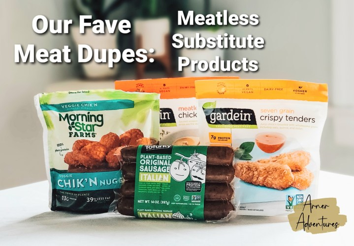 Our Fave Meat Dupes: Meatless Substitute Products