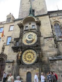 Astronomical Clock originally built in the 1500's