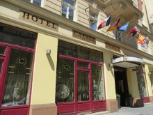 Our hotel in Prague