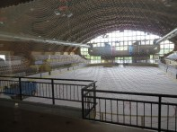 Anze Kopitar (LA Kings) practices here when he is in Bled