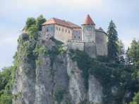 Zoom shot of the Bled Castle
