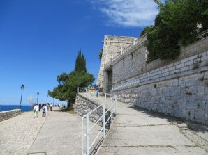 Stairway to the summit at the west end of Rovinj