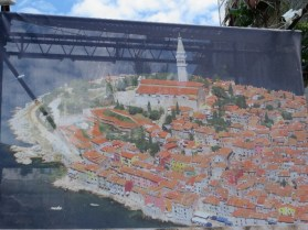 Picture of a picture of Rovinj