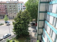 View from our hotel window in Milan