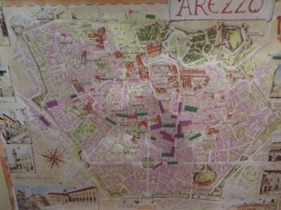 OU Map of Arezzo