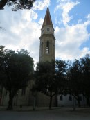 The bell tower of the Cattedrale