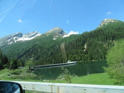 Swiss view near San Bernadino Pass