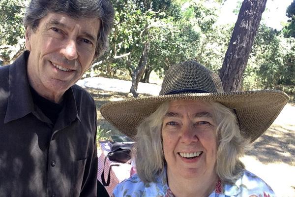 Arnie Gamble and Erin O'toole in Monterey California.