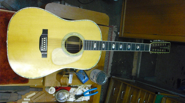 martin 12 string pickguard replacement