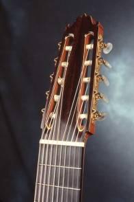 Ten string guitar by Arnie Gamble.