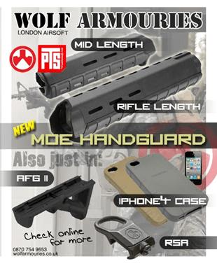 Magpul Moe Sling Mount : magpul, sling, mount, Handguards, Armouries, ArniesAirsoft