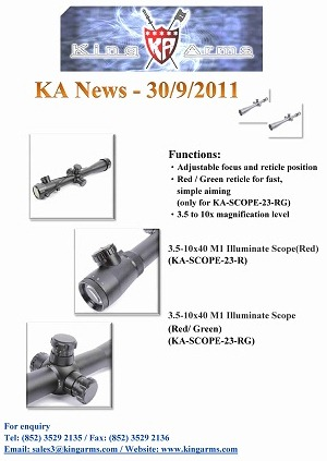 King Arms News - 30 Sep 2011 (Scope) (Promotion)