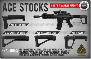 f8cabc95 Thinking about picking up a licensed ACE SOCOM Stock, built by Madbull  Airsoft? Check out Senchoo's in-depth review first, for detailed  information about ...