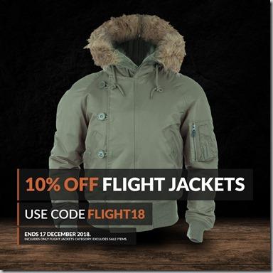 Flight Jackets Sale 2018 Instagram