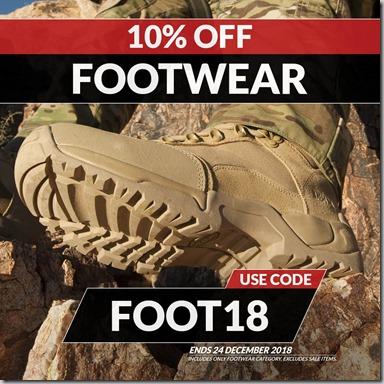 Footwear Sale 2018 Instagram