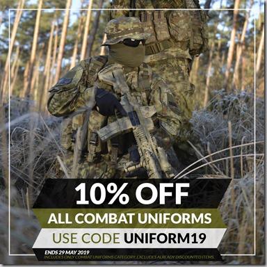 Combat Uniforms Sale 2019 Instagram