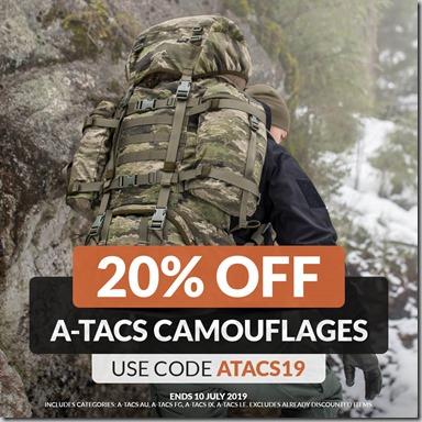 A-TACS Sale 2019 Instagram