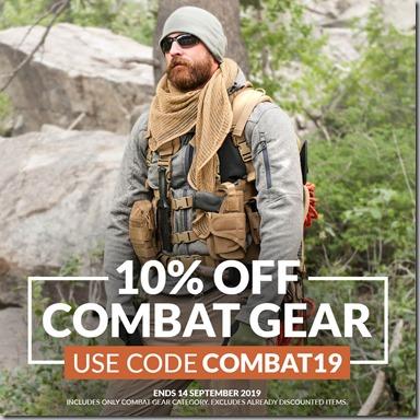 Combat Gear Sale 2019 Instagram