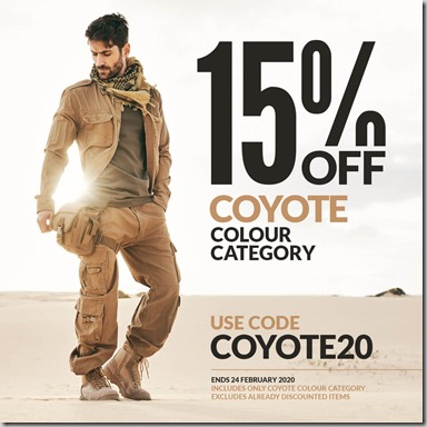 Coyote Sale 2020 Instagram