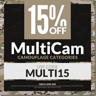 MultiCam Sale 2020 Instagram