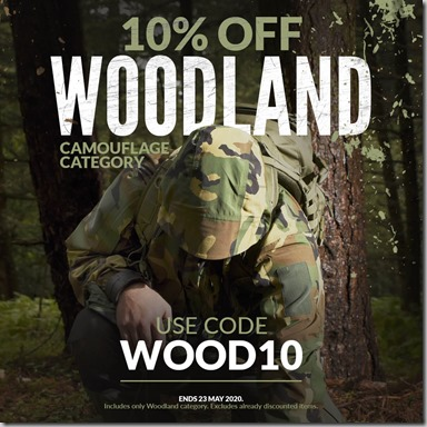 Woodland Sale 2020 Instagram