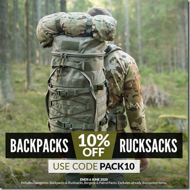 Backpacks and Rucksacks Sale 2020 Instagram