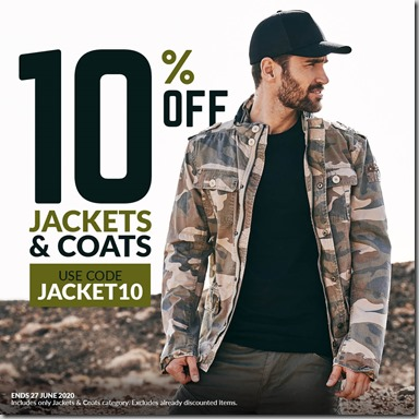 Jackets and Coats Sale 2020 Instagram