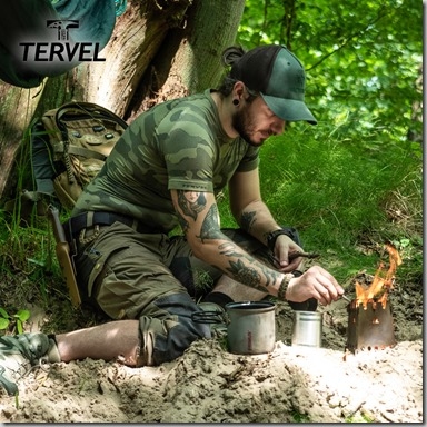 Tervel Optiline Tactical Shirt Short Sleeve Military Grey insta