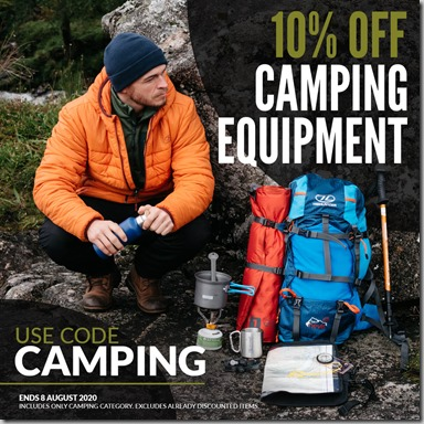 Camping Sale 2020 Instagram