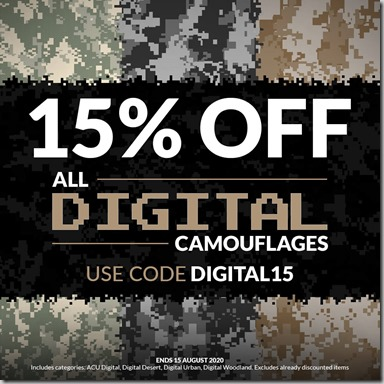 Digital Camo Sale 2020 Instagram