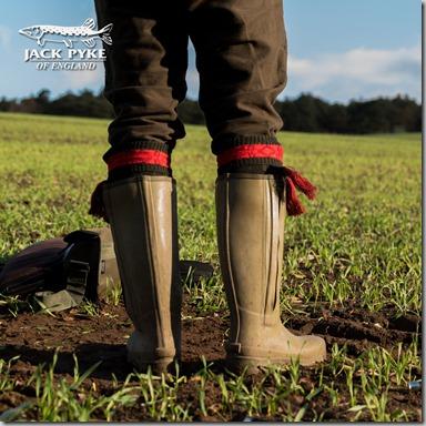 Jack Pyke Ashcombe Zipped Wellington Boots insta