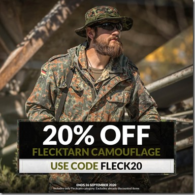 Flecktarn Sale 2020 Instagram