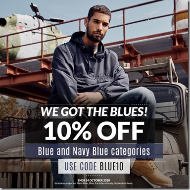 Blue Sale 2020 Instagram