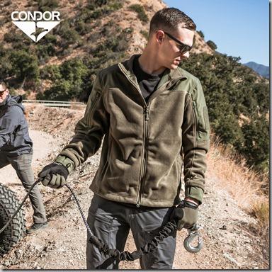 Condor Bravo Fleece Jacket insta