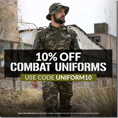 Combat Uniforms Sale 2020 2 Instagram
